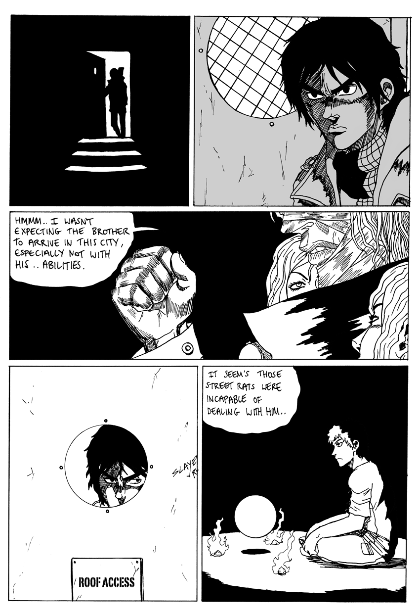 Blood Rush Part 3 page 1