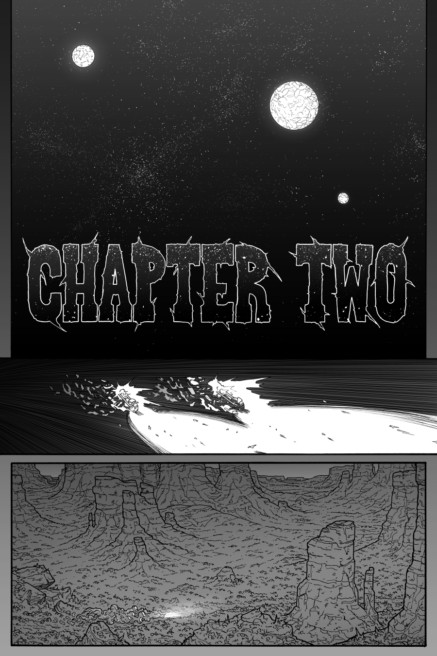 Chaos Sword Chapter 2 Part 1 page 1