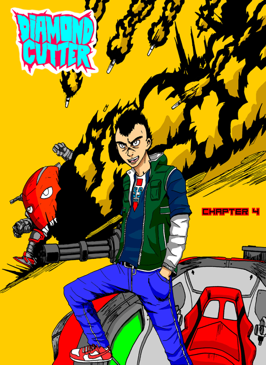 Diamond Cutter Chapter 4 Cover