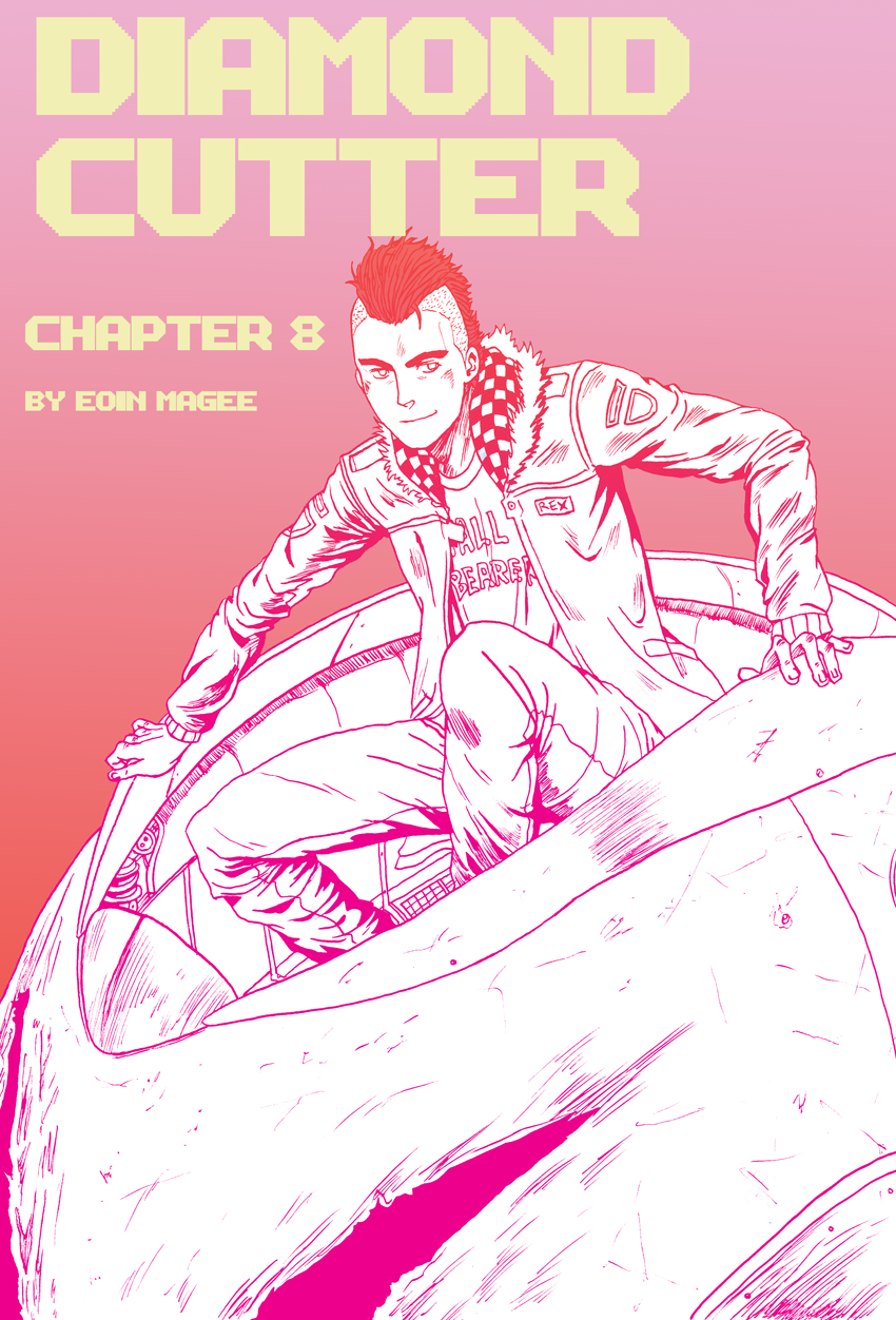 Diamond Cutter Chapter 8 Cover