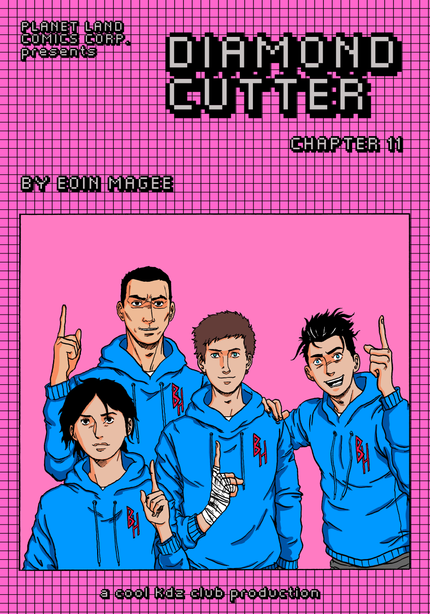 Diamond Cutter Chapter 11 Cover 1
