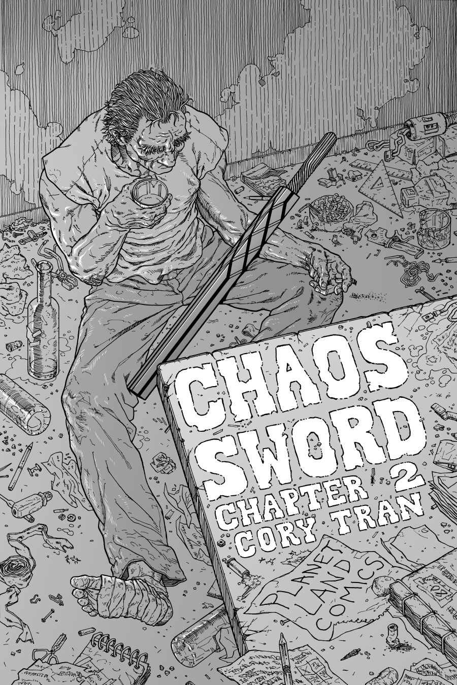 Chaos Sword Chapter 2 Cover by Cory Tran