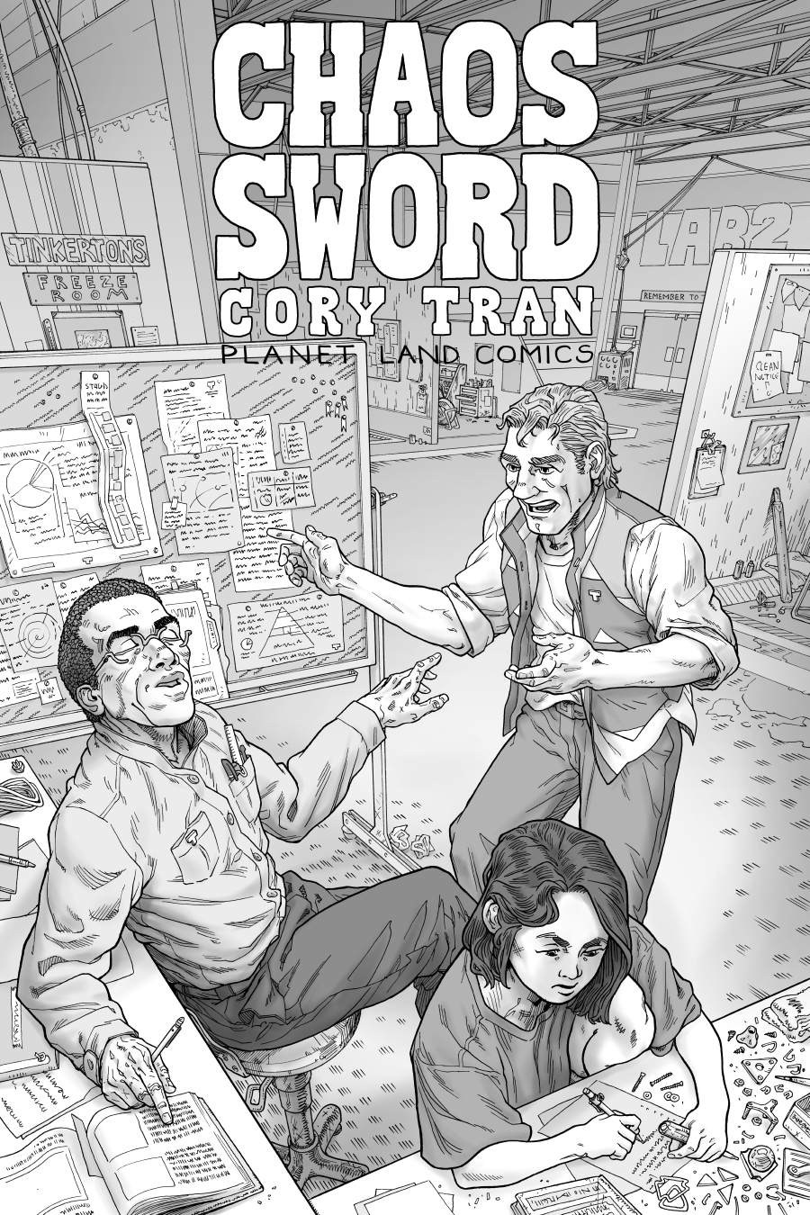 Chaos Sword c2p3 Cover1 by Cory Tran